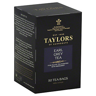 Taylors EARL GREY TEA,50 CT