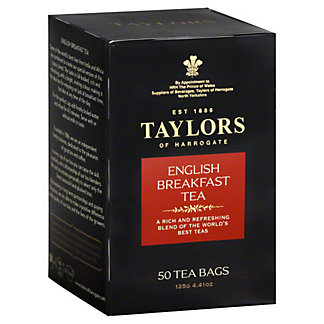 Taylors of Harrogate ENGLISH BREAKFAST TEA,50 CT