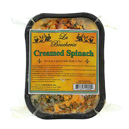 La Boucherie Creamed Spinach,16 OZ