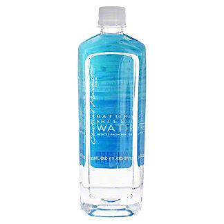 Central Market Natural Artesian Water, 33.80 oz