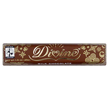 Divine Milk Chocolate Snack Bar,1.5 OZ