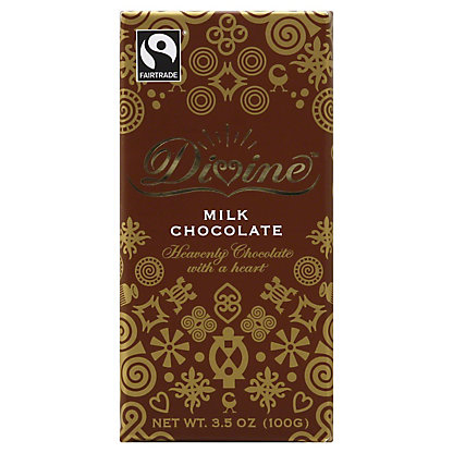 Divine Milk Chocolate Bar,3.5 OZ