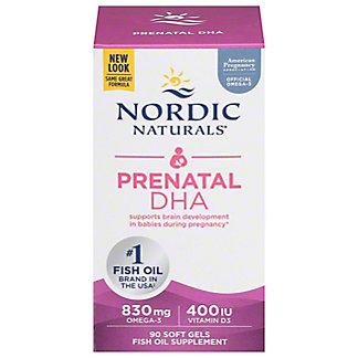 Nordic Naturals Prenatal DHA 500 mg Soft Gels,90 CT