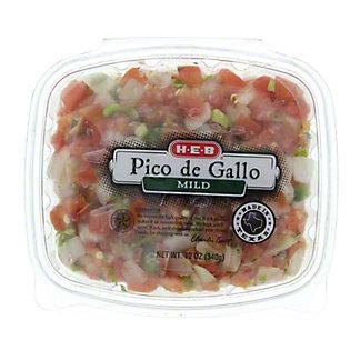 H-E-B Mild Pico De Gallo,12.00 oz