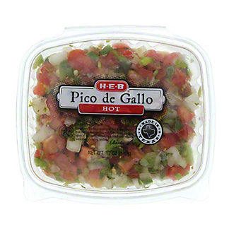 H-E-B Hot Pico De Gallo,12.00 oz