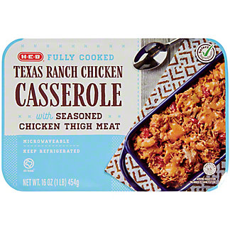 H-E-B Fully Cooked Texas Ranch Chicken Casserole, 16 oz