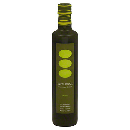 Terra Medi Extra Virgin Organic Olive Oil,17 OZ