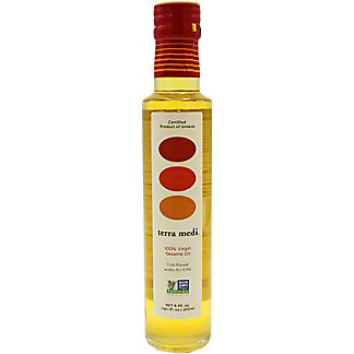 Terra Medi Extra Virgin Sesame Olive Oil, 8.5 oz