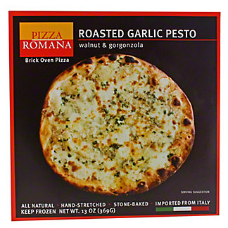 Pizza Romana Roasted Garlic Pesto with Gorgonzola & Walnut,EACH