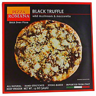 Pizza Romana Black Truffle with Wild Mushroom & Mozzarella,EACH