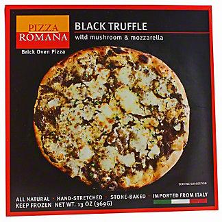 Pizza Romana Black Truffle with Wild Mushroom & Mozzarella,EACH