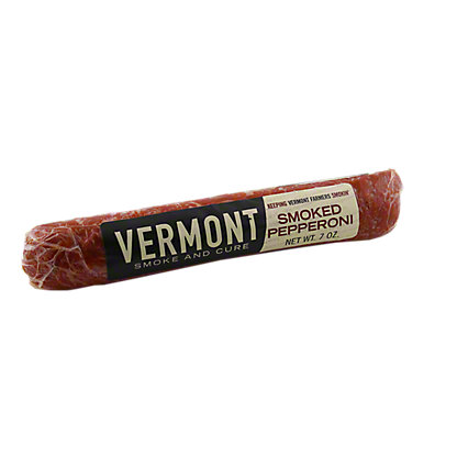 Vermont Smoke and Cure Smoked Pepperoni, 7 OZ