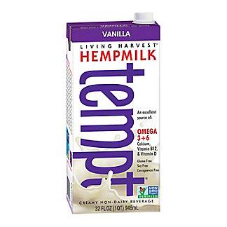 Living Harvest Hempmilk Vanilla, 32 OZ