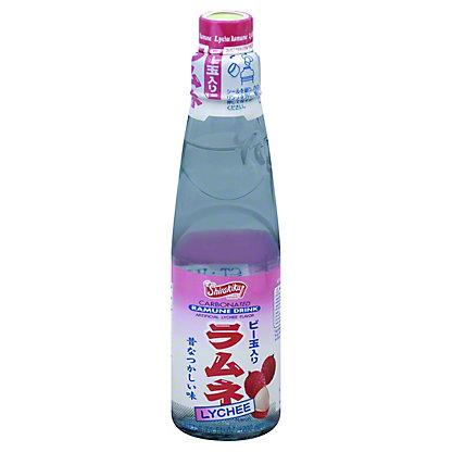 Shirakiku Carbonated Lychee Ramune Drink,6.76 OZ