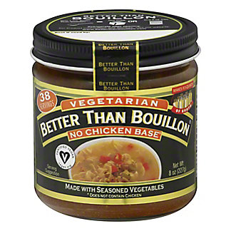 Better Than Bouillon No Chicken Base, Vegetarian,8 oz