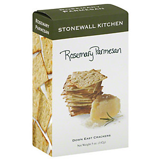 Stonewall Kitchen Rosemary Parmesan Crackers,5 OZ