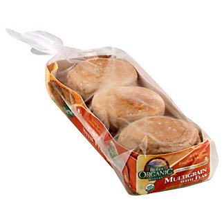 Rudi's Organic Bakery Multigrain Muffin with Flax,12 OZ