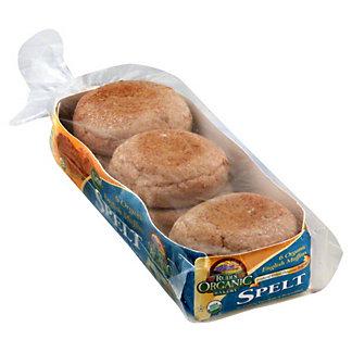 Rudis Organic Bakery Organic Spelt English Muffins,12OZ