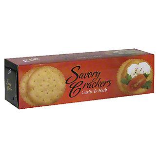 Elki Garlic and Herb Savory Crackers,5.3OZ