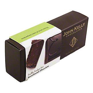 JOHN KELLY CHOCOLATES John Kelly Chocolates Truffle Fudge Bar No Nuts, 8 OZ
