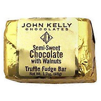 John Kelly Chocolates Truffle Fudge with Walnuts 2 oz,1.7OZ