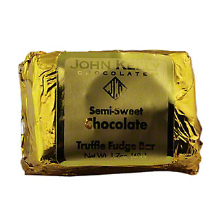 JOHN KELLY CHOCOLATES John Kelly Chocolates 2oz Truffle Fudge No Nuts,1.7OZ
