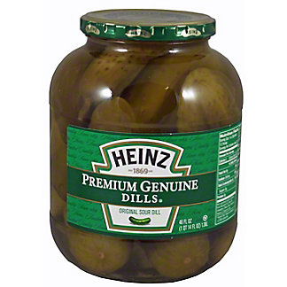 Heinz Heinz Genuine Dill Pickle,46 oz