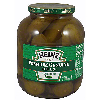 Heinz Heinz Genuine Dill Pickle,46 oz