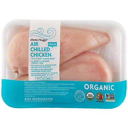 Central Market Organics Air Chilled Boneless Chicken Breasts