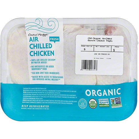 Central Market Organic Air Chilled Chicken Thighs