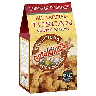 Geraldines All Natural Tuscan Cheese Straws Parmesan Rosemary, 4.20 oz