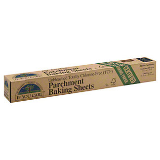 If You Care Parchment Paper Sheets,24 pre-cut sheets