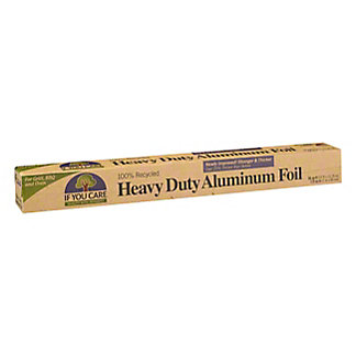 If You Care Recycled Heavy Duty Aluminum Foil, 30 SQ FT
