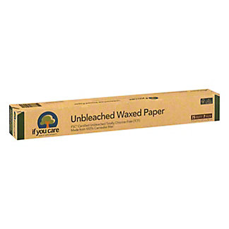 If You Care If You Care Unbleached Wax Paper, 1.00 ea