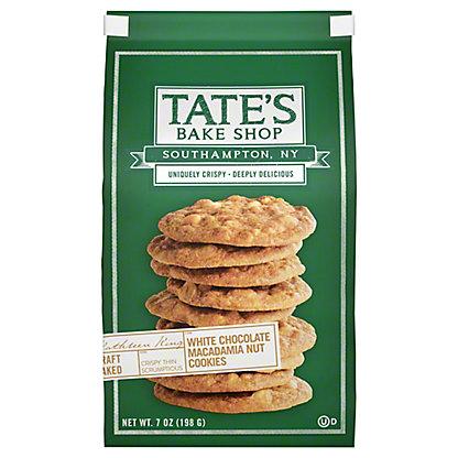 Tate's Bake Shop White Chocolate Chip Macadamia Nut Cookies, 7 oz