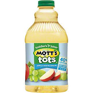 Mott's For Tots Apple White Grape Fruit Juice + Purified Water, 64 oz