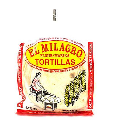 El Milagro Flour Tortillas,20 CT