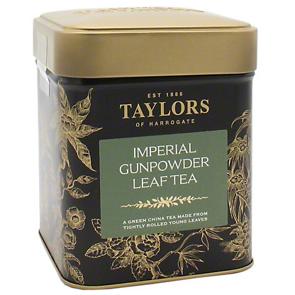 Taylors of Harrogate Gunpowder Loose Green Tea, 4.41 oz