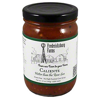 Fredicksburg Farms Caliente Salsa,12 OZ