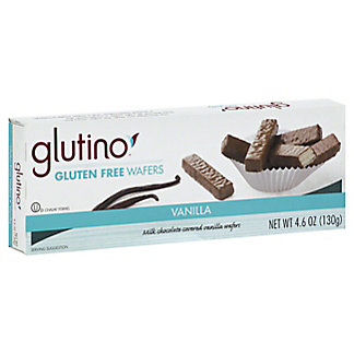 Glutino Glutino Milk Chocolate Coated Wafers,4.6 OZ