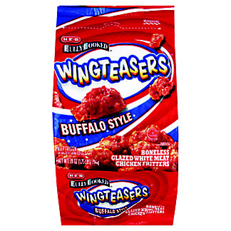 H-E-B Fully Cooked Buffalo Style Wingteasers, 28 oz