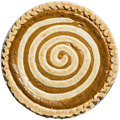 Central Market Pumpkin Cream Cheese Pie, Serves 8-10