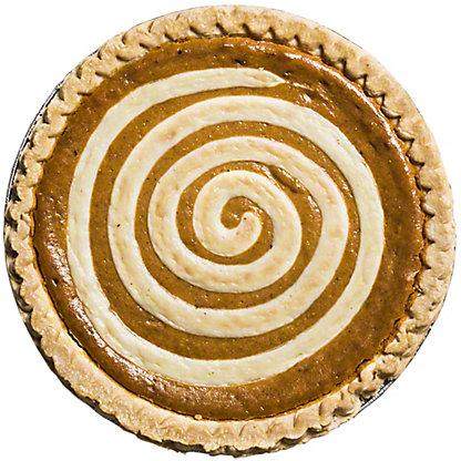 Central Market Pumpkin Cream Cheese Pie, Serves 8-10