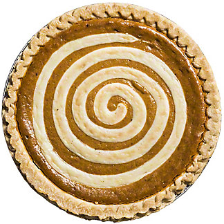 Central Market Pumpkin Cream Cheese Pie, 10 in, Serves 8-10