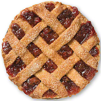 Central Market Strawberry Rhubarb Pie, 10 in, Serves 8-10