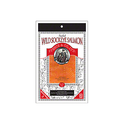 Spence and Co., LTD. Wild Sockeye Salmon, 4 oz