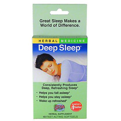 Herbs, Etc. Deep Sleep Softgels,10 CT