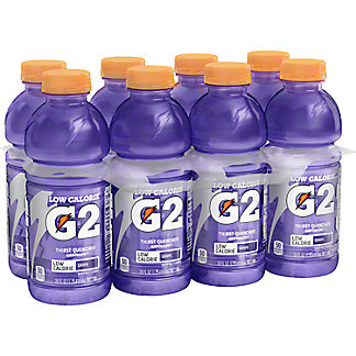 Gatorade Low Calorie Grape Thirst Quencher 8 PK,20 oz
