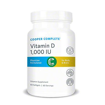 Cooper Complete Cooper Complete Vitamin D 1000 IU, 60.00 ea