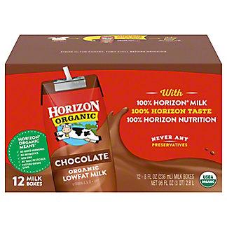 Horizon Organic Organic Lowfat Chocolate Milk, 12 pk - 8 oz